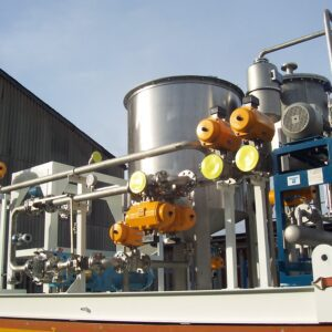 Lewis & Raby is a manufacturer of industrial metal skid units